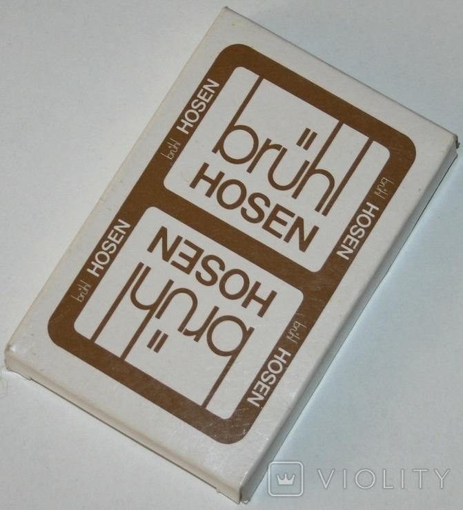 """Игральные карты """"Brühl Hosen"""" (полная колода,32 листа) BSS.,Германия, фото №2"""