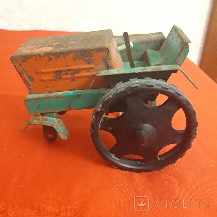 Трактор игрушка СССР, фото №2