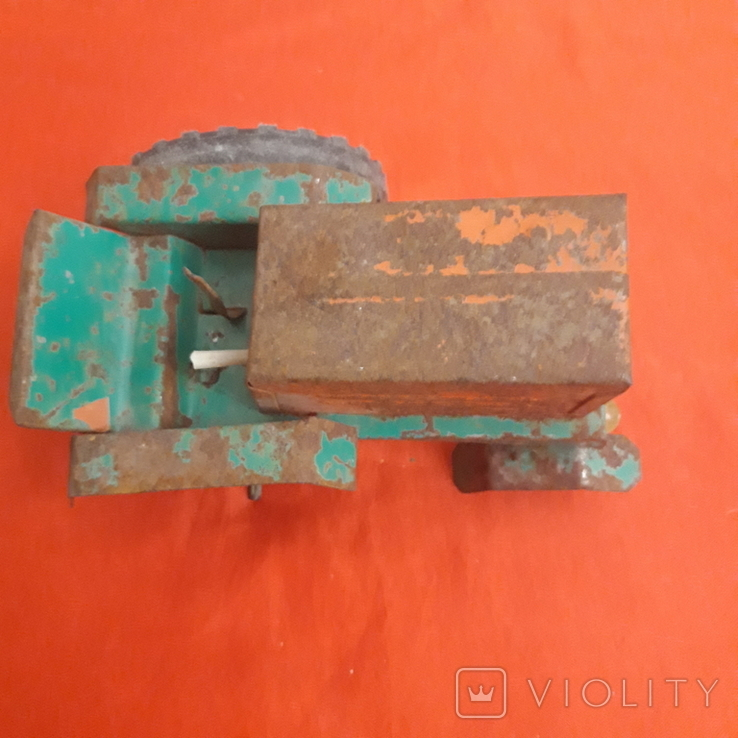 Трактор игрушка СССР, фото №4