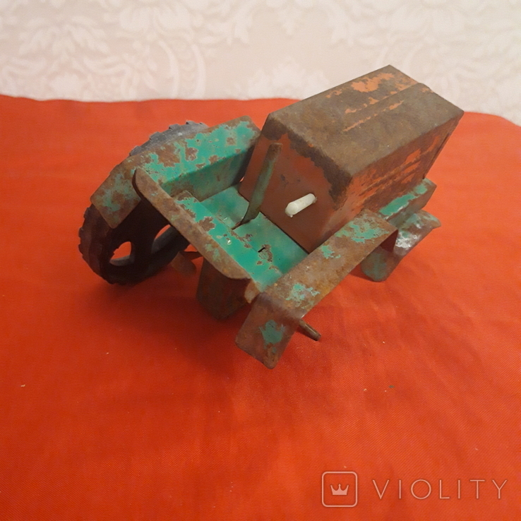 Трактор игрушка СССР, фото №5