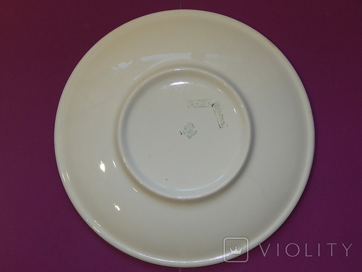 Блюдо диаметр 24,5 Буды клеймо 67-1991г, фото №10