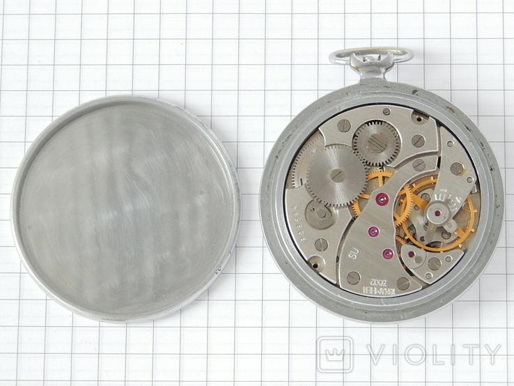 """Часы карманные """"Молния 3602"""" СССР (на ремонт)., фото №12"""