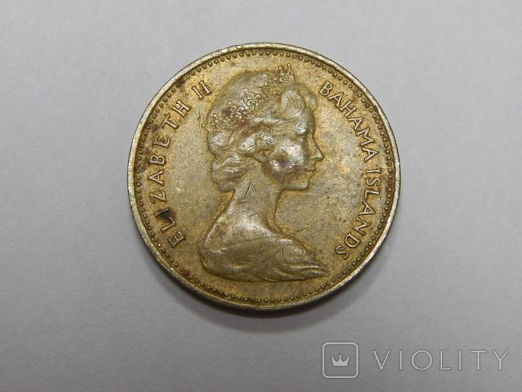 1 цент, 1968 г Багамы, фото №3