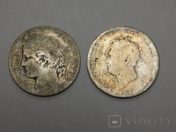 1 шиллинг и 1 франк, фото №2
