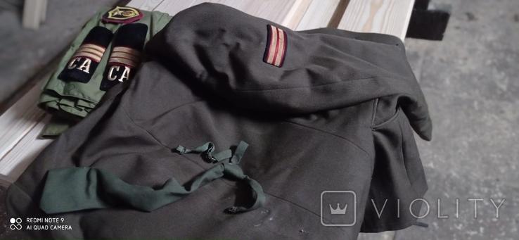 Китель рубашка галстук., фото №3