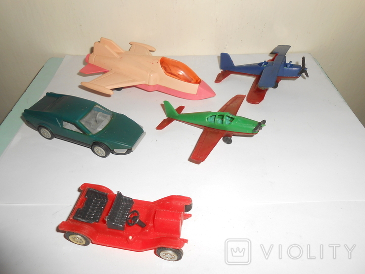 Самолет кукурузник машинка Детские игрушки 1 лотом, фото №2