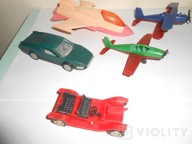 Самолет кукурузник машинка Детские игрушки 1 лотом, фото №4