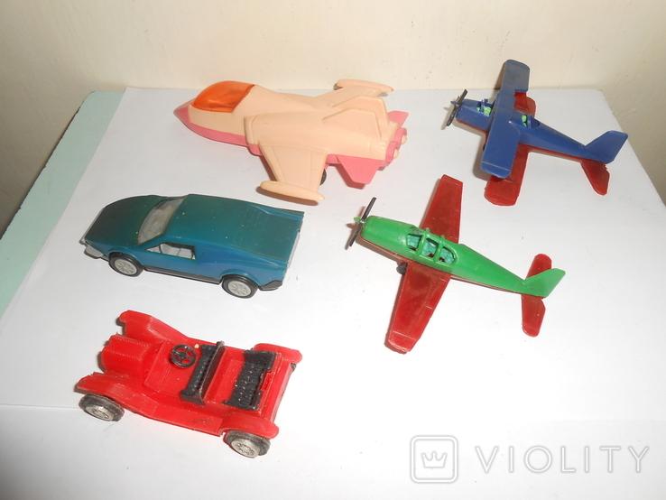 Самолет кукурузник машинка Детские игрушки 1 лотом, фото №5