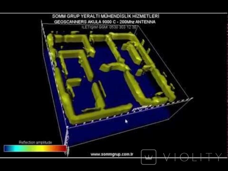 Продам георадар Akula 9000C, геосканер полный комплект для поиска, фото №6