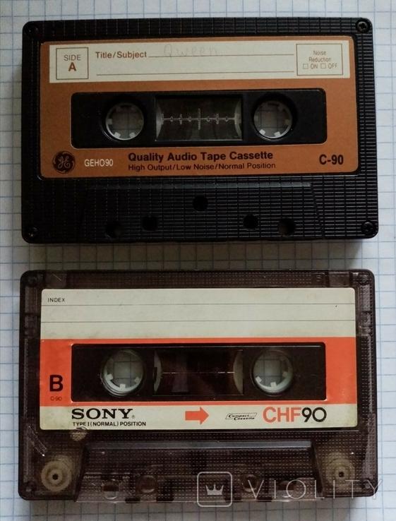 2 Аудиокассеты 90ых, фото №2