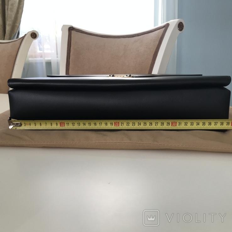 Портфель деловой кожаный, фото №9