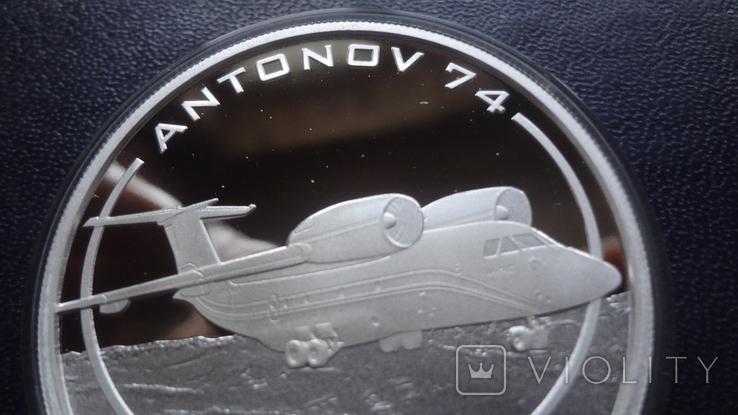 1 доллар 2008 о-ва Кука АН-74 унция серебро, фото №3