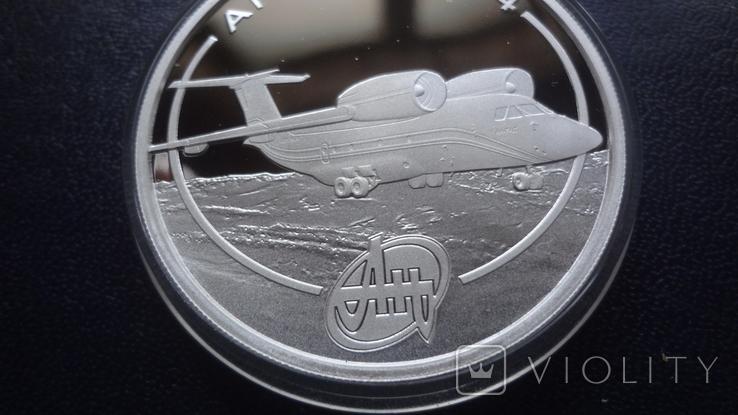 1 доллар 2008 о-ва Кука АН-74 унция серебро, фото №4
