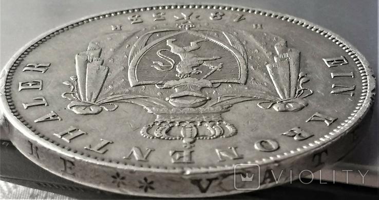 Коронний талер 1833 р. Гессен, Людвіг ІІ, фото №8