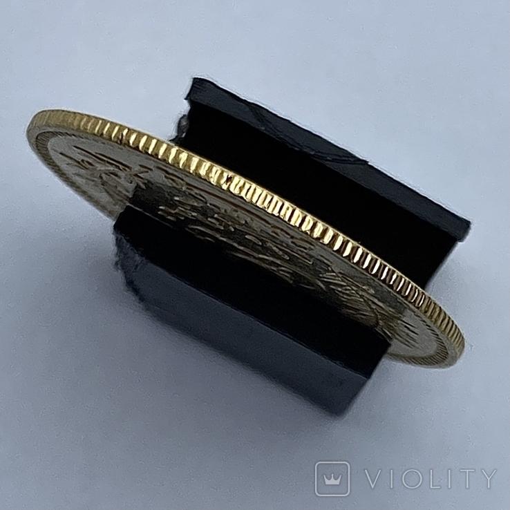 10 франков. 1891. Тунис. (золото 900, вес 3,20 г), фото №7