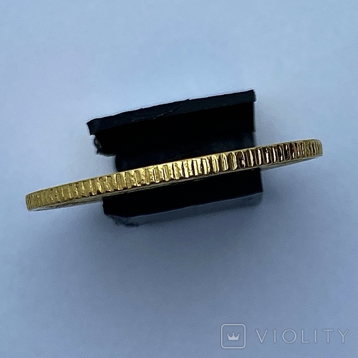 20 лир. 1859. Сардиния. (золото 900, вес 6,45 г), фото №7