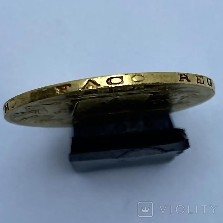 20 франков. 1818. Луи XVIII. Франция (золото 900, вес 6,38 г), фото №5