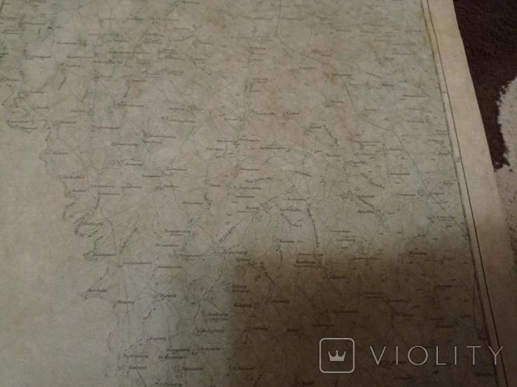 Копия немецкой карты  города  Могилев, фото №7