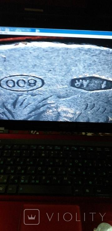 Серебряные медальоны 800 пробы, фото №7