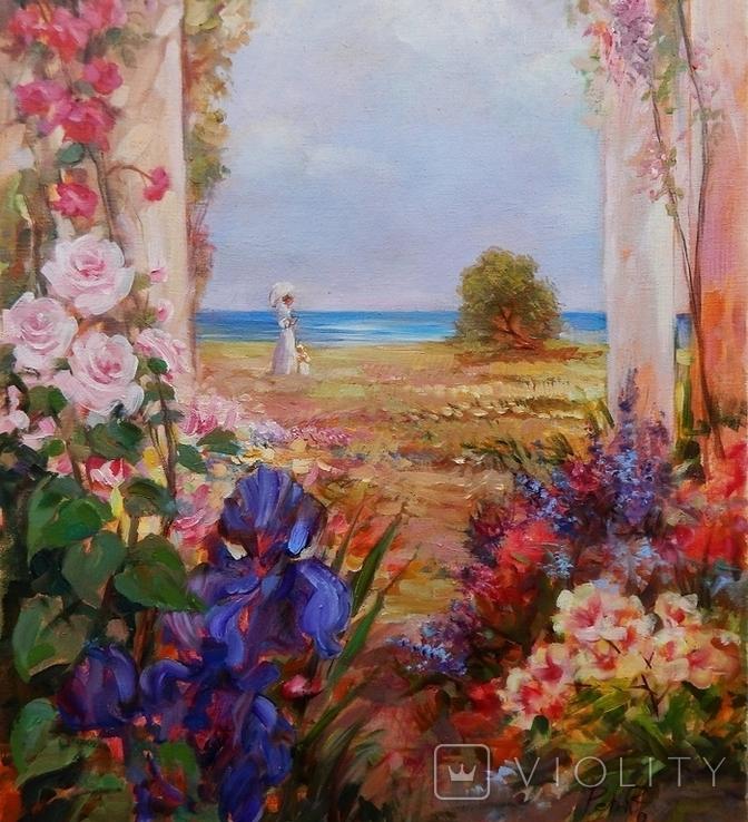 """Garden"" 40 x 60 ( 2018), фото №4"
