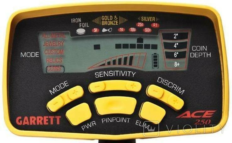 Металлоискатель Garrett Ace 250 - повторно в связи с не выкупом., фото №3