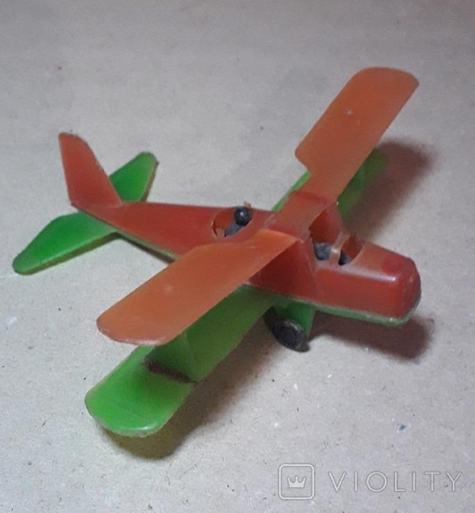 Самолётик Кукурузник с пилотами. Длина 9 см., фото №6
