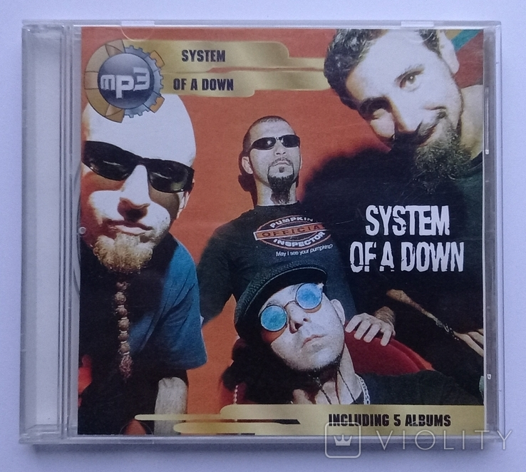SYSTEM OF A DOWN. MP3., фото №2