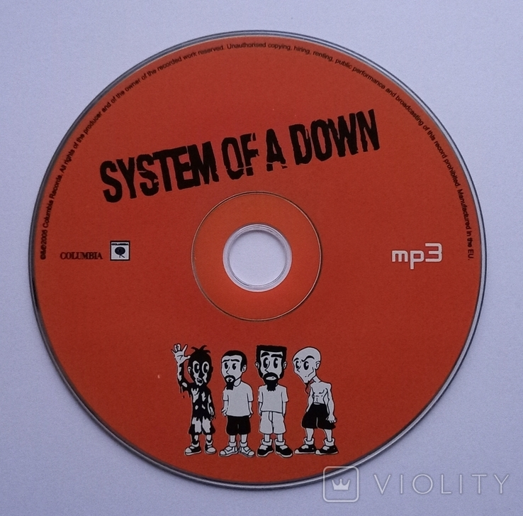 SYSTEM OF A DOWN. MP3., фото №5