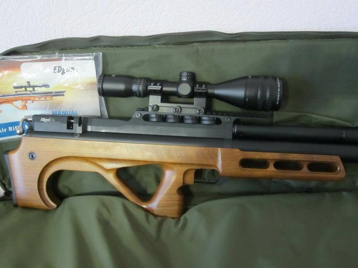 Пневматическая винтовка Эдган Матадор стандарт. Буллпап.Кал. 6.35, фото №3