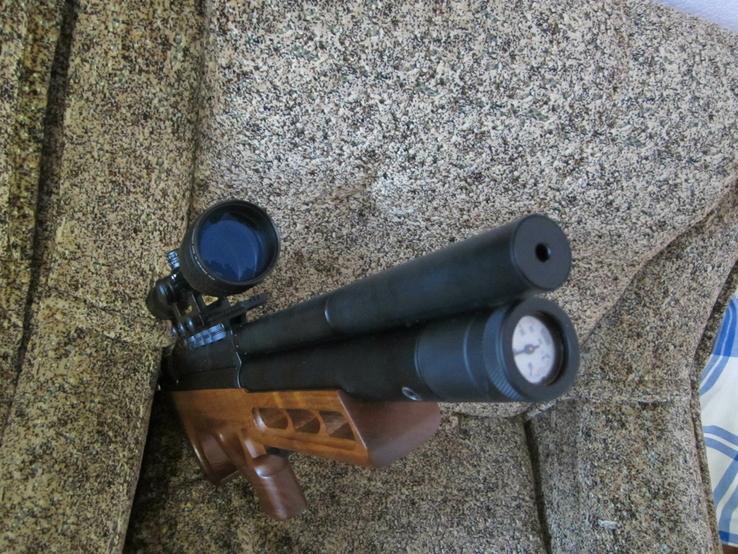 Пневматическая винтовка Эдган Матадор стандарт. Буллпап.Кал. 6.35, фото №10