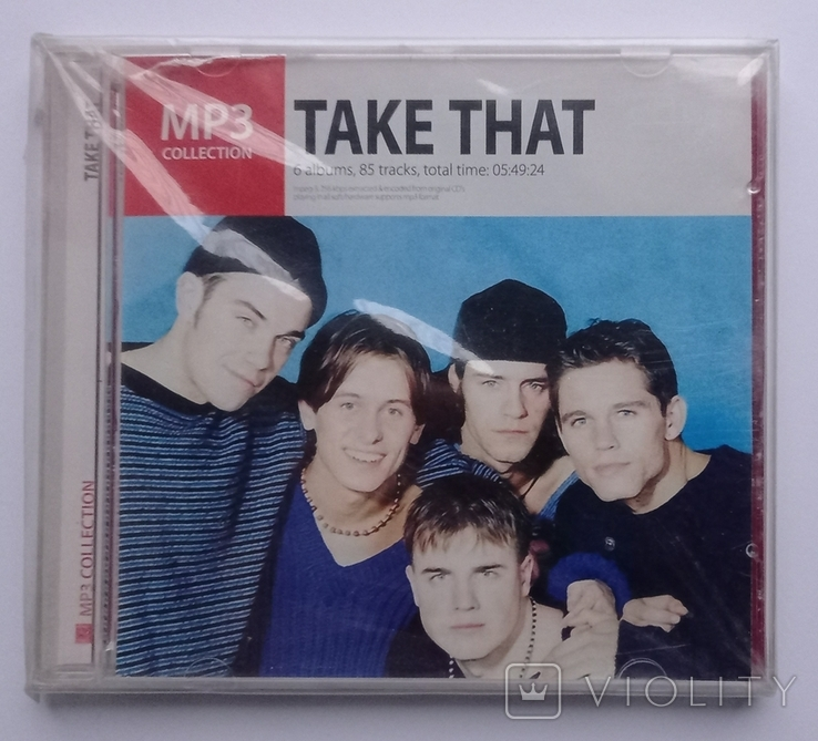 TAKE THAT. MP3 collection., фото №2