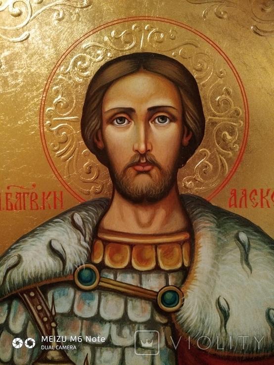 Икона Александр Невский, фото №3