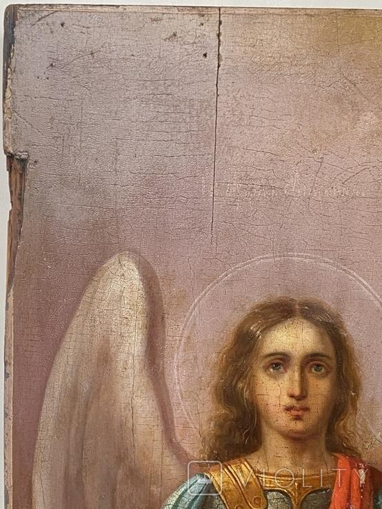 Икона Михаил и Святая, фото №7