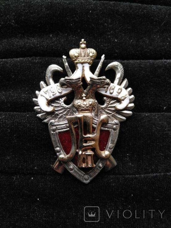 Полковой знак 20-ого туркистанского полка, копия, фото №2