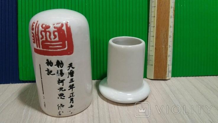 Керамическая подставка для зубочисток, фото №2
