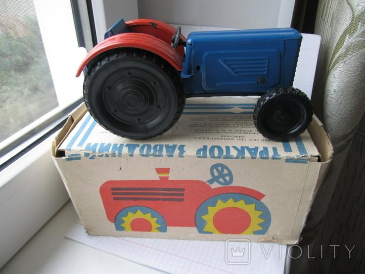 Трактор заводной. Завод Ватутина 1985 г., фото №2