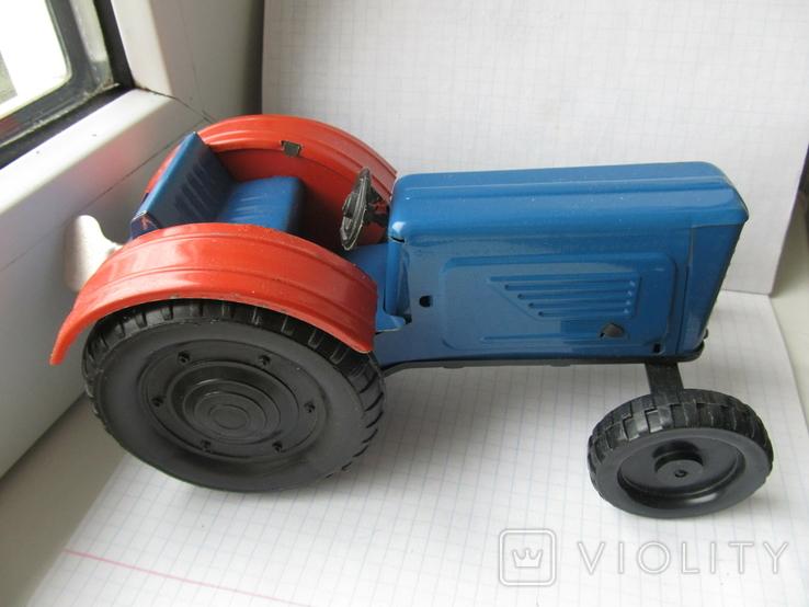 Трактор заводной. Завод Ватутина 1985 г., фото №3