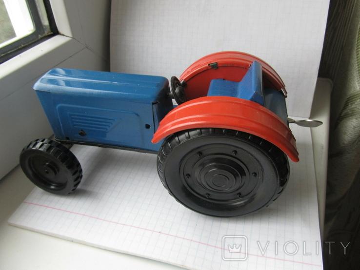 Трактор заводной. Завод Ватутина 1985 г., фото №5