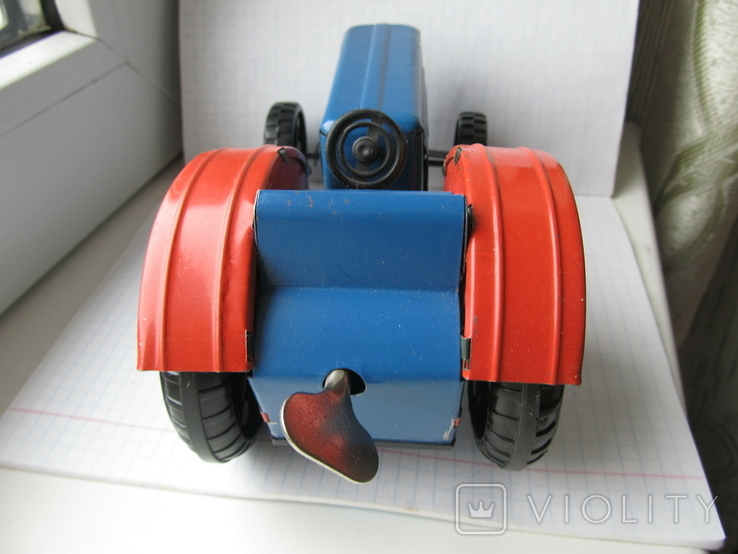 Трактор заводной. Завод Ватутина 1985 г., фото №6