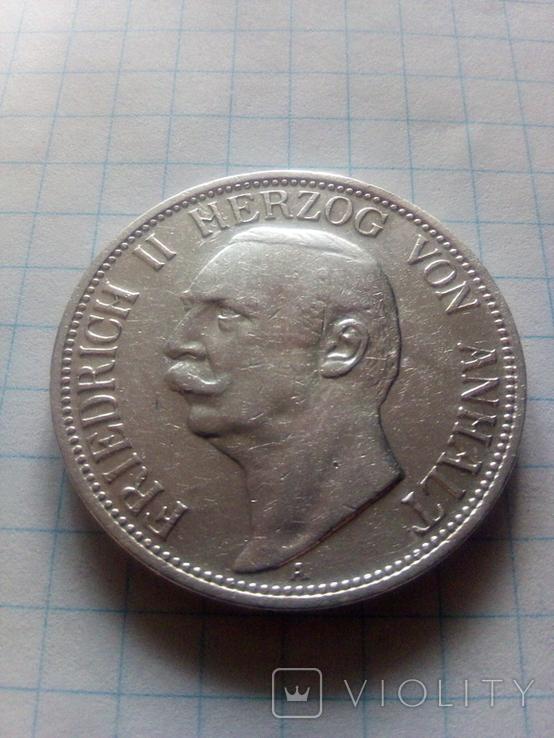 3 марки 1909 Анхальт