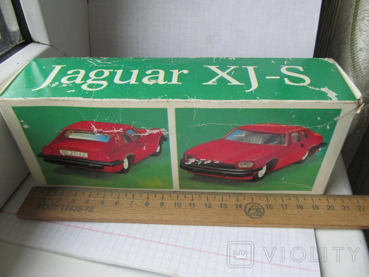Ягуар. Инерционная модель-игрушка 1/25 масшт., фото №9