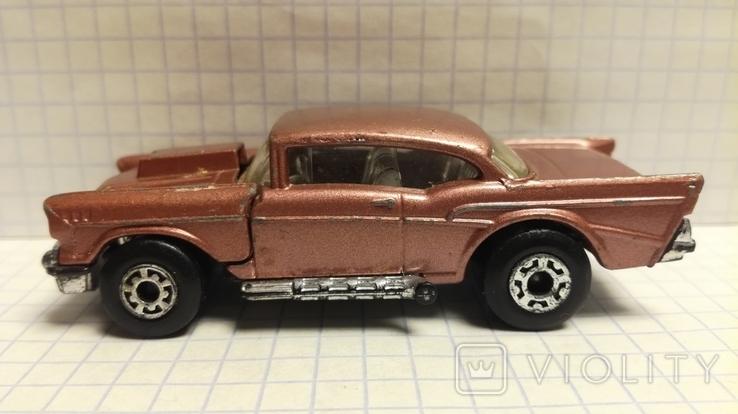 Matchbox '57 Chevy 1/67 (1979-1981) England, фото №4
