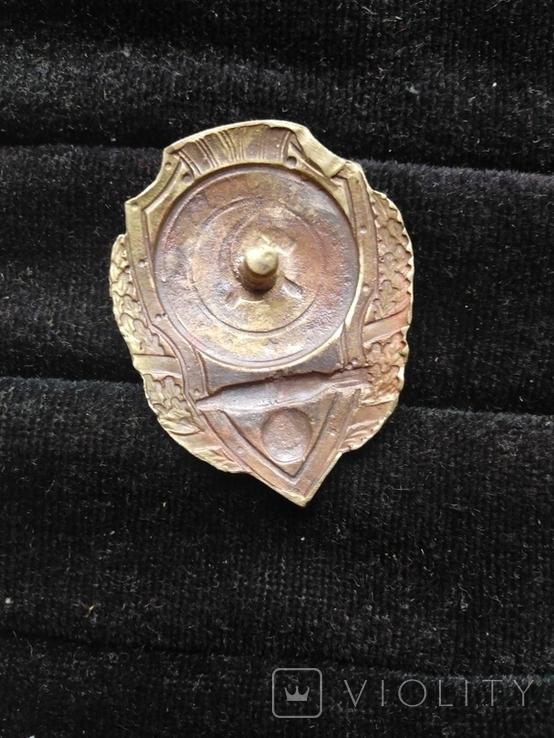 Знак отличный торпедист, копия, фото №3