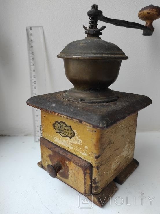 Кофемолка Sfinx Filakovo Чехословакия 30-е годы, фото №2