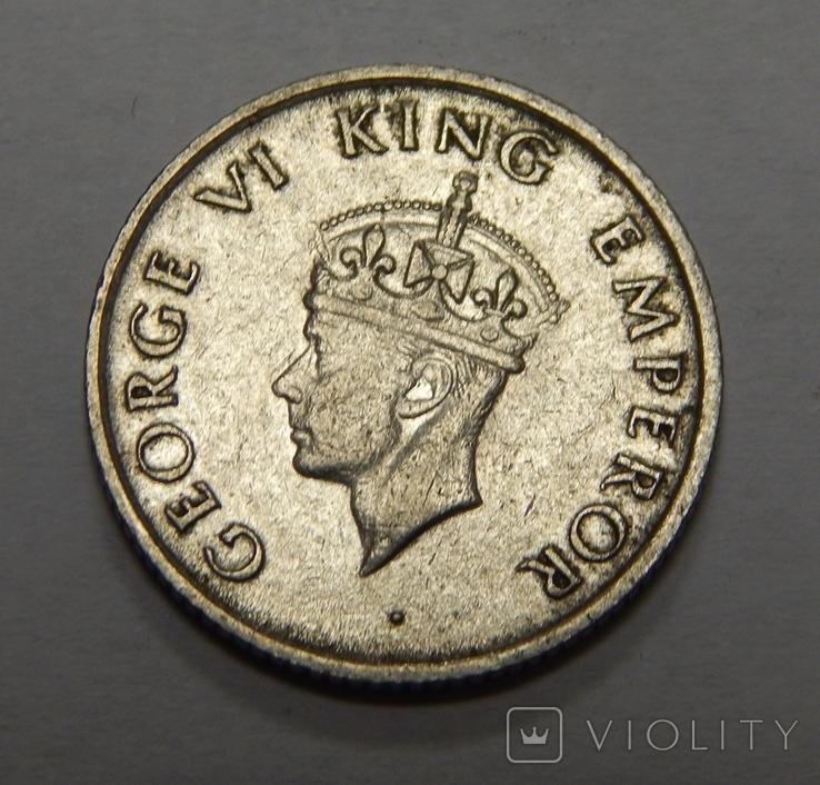 1/4 рупии, 1946 г Индия, фото №3