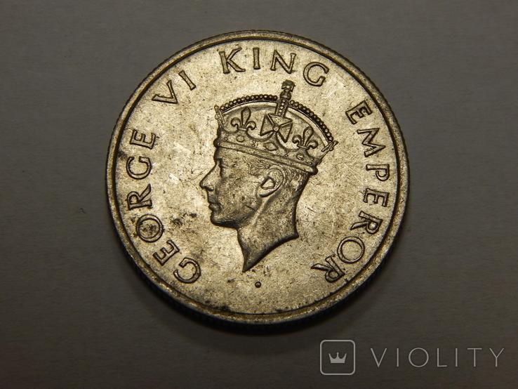 1/2 рупии, 1946 г Индия, фото №3
