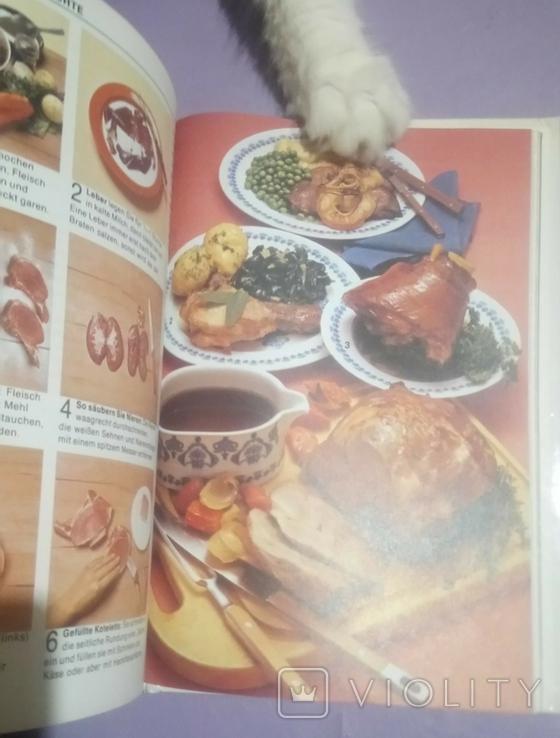 Burda Кулинарные рецепты сто на немецком 1989г., фото №8