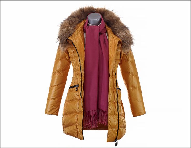 Куртка пуховик Mark Pivots. Зиме вдогонку, весне навстречу. Натуральный пух и мех., фото №9