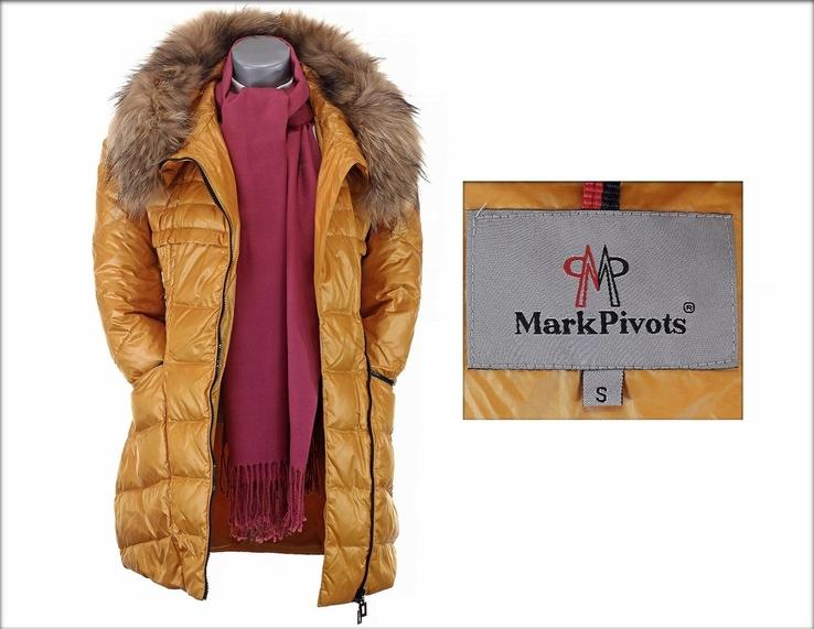 Куртка пуховик Mark Pivots. Зиме вдогонку, весне навстречу. Натуральный пух и мех., фото №13