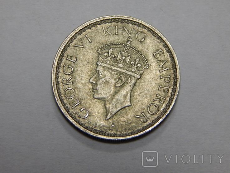 1/2 рупии, 1941 г Индия, фото №3